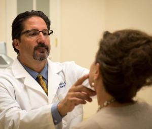 Dr. Jeffrey Antimarino Treating Patient